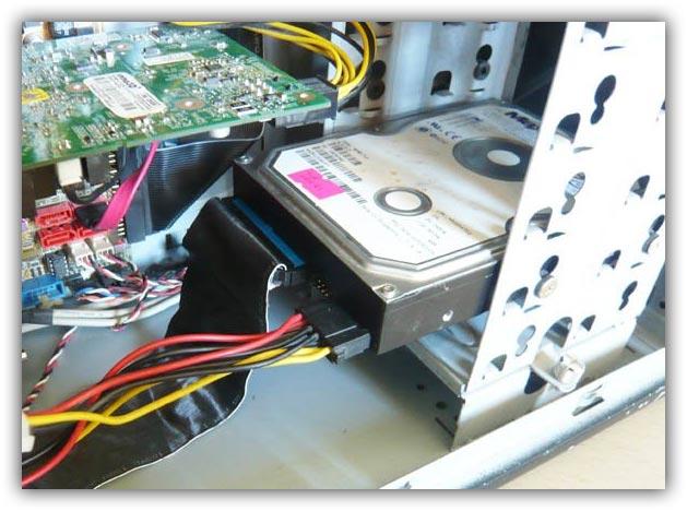 Жесткий диск в компьютере