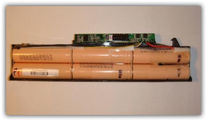 Разбор испорченной батареи