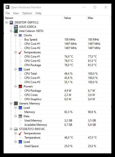 Программа проверки температуры компьютера скачать