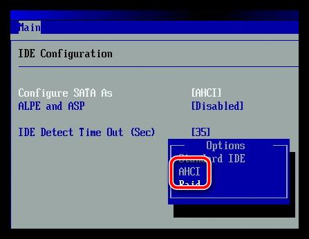 Установка Windows на SSD