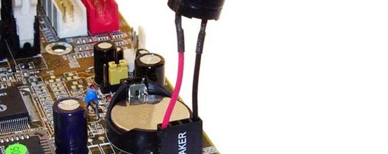 Динамик который издаёт писк в системном блоке компьютера