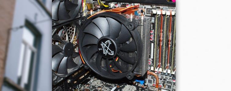 Активное охлаждение компьютера