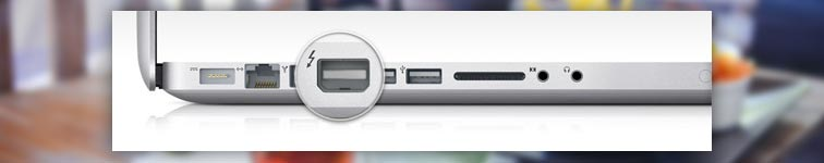 Thunderbold разъем на mac