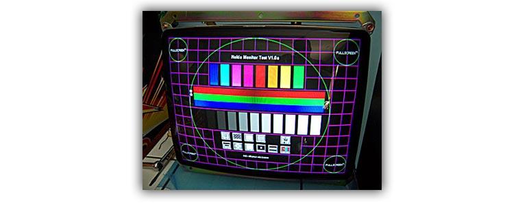 Тестирование битых пикселей через Nokia Monitor Test