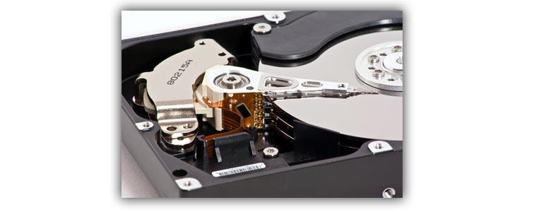 записывающее устройство в жестком диске