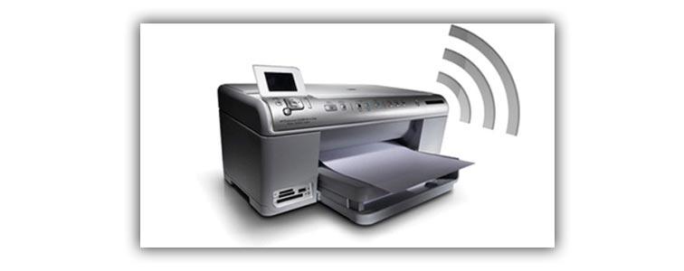 Беспроводной принтер работающий через wi-fi