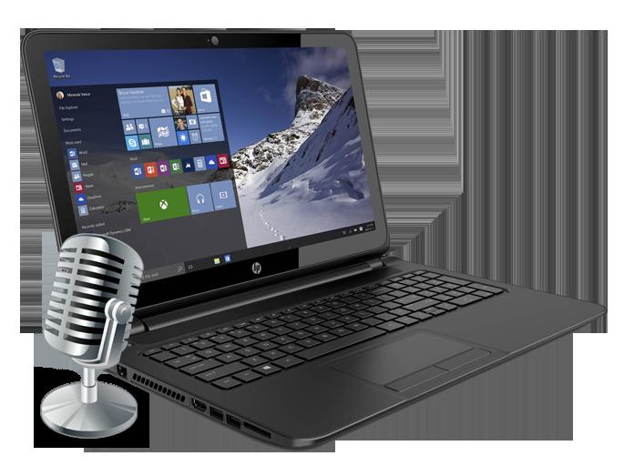 Не работает встроенный микрофон в ноутбуке: причины неполадки и способы решения